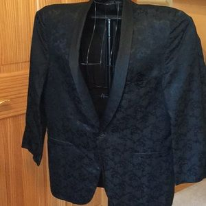 Vintage 50s tuxedo jacket